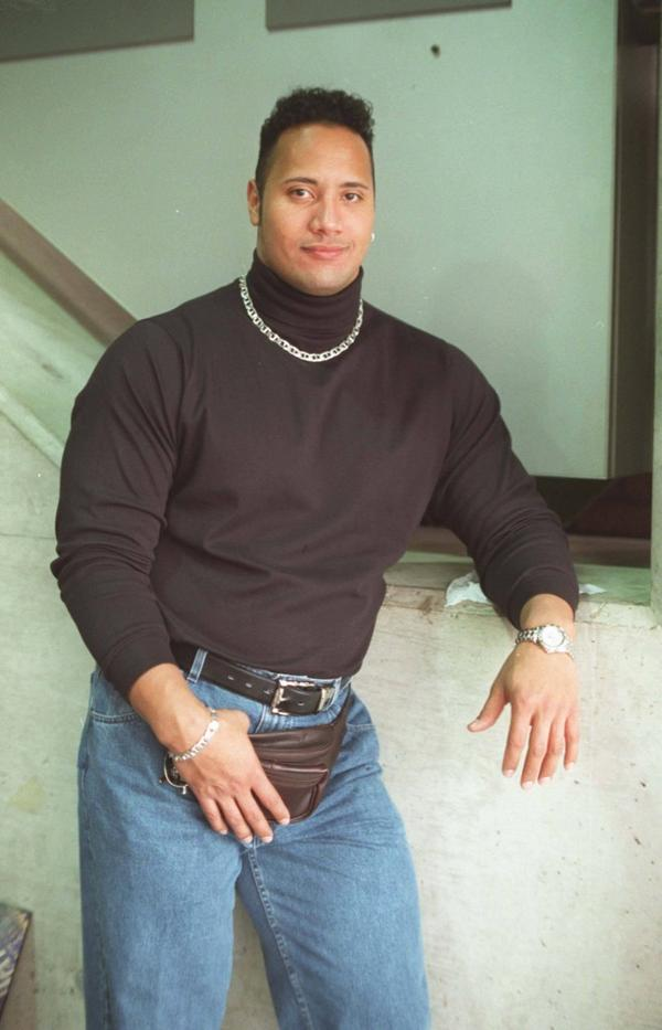 """最後是90年代的巨石強森(DOUGLAS JOHNSON, """"THE ROCK"""")"""