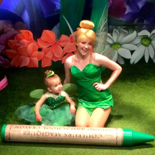 《小飛俠》的小仙女叮噹  (Tinkerbell in Peter Pan)