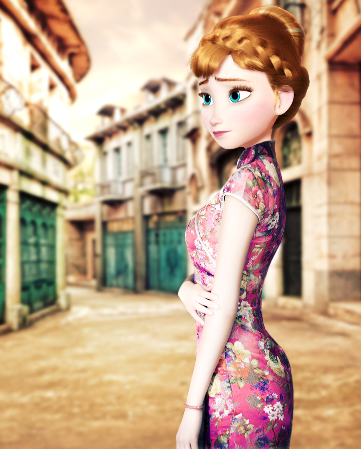 Heres What Its Like If Frozen Had Been Set In China