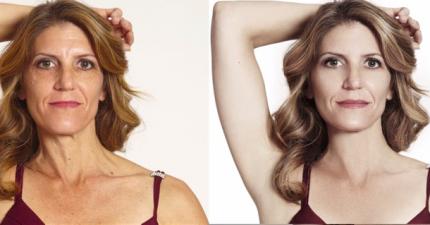 這些真實的女人接受了明星級的PS修圖後,她們對自己完美的新臉孔滿意嗎?