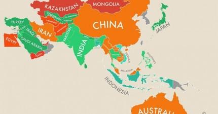全球最新幸福國家排名出爐。來看看你的國家幸不幸福!