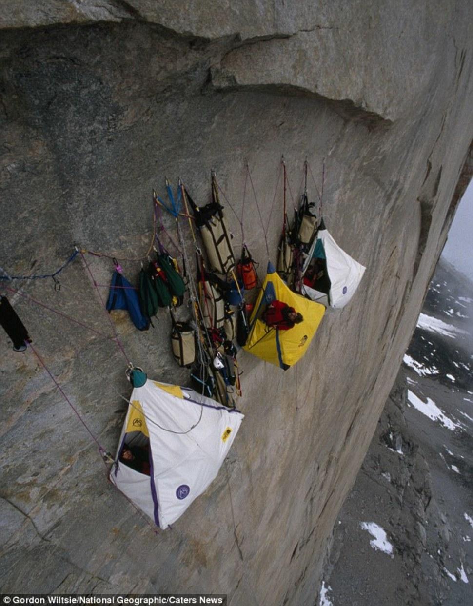 北極峭壁表面 Arctic Cliff Face