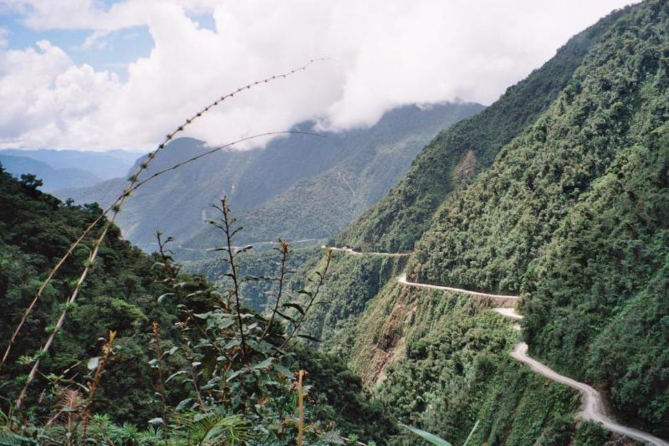 南美玻利維亞 永加斯路 Yungas Road