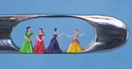 你看得到嗎?這些驚世雕刻作品一定要用放大鏡才看得到!