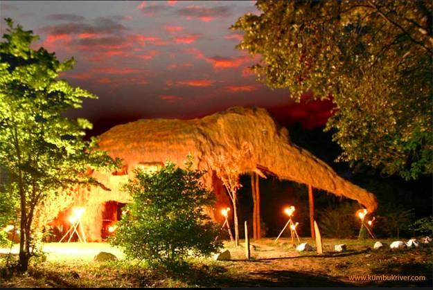 11.) 斯里蘭卡 KumbukRiver飯店 KumbukRiver in Buttala, Sri Lanka