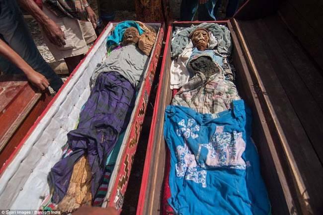 在托拉亞這個地方,關於死亡的儀式比關於誕生和婚姻的都還要重要,也因此遺體清理對居民們意義非凡。