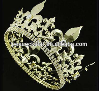 純金皇冠,在家當皇帝不是夢!