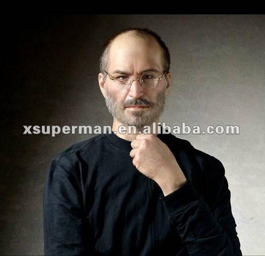賈柏斯(Steve Jobs)的蠟像,買來放家裡我是不是就可以跟他一樣聰明?