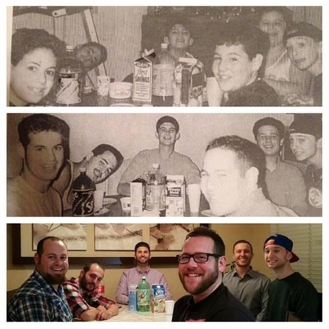 24組超感人的歲月對比照片,會提醒你一定要珍惜身邊的親友!