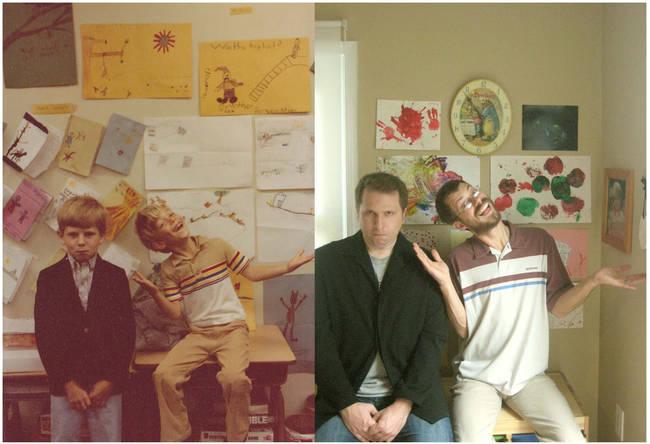 1980年和2009年,好朋友一直都在。