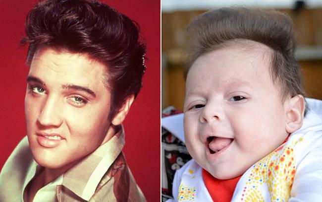 3.) 猫王 (Elvis Presley) vs. 宝宝