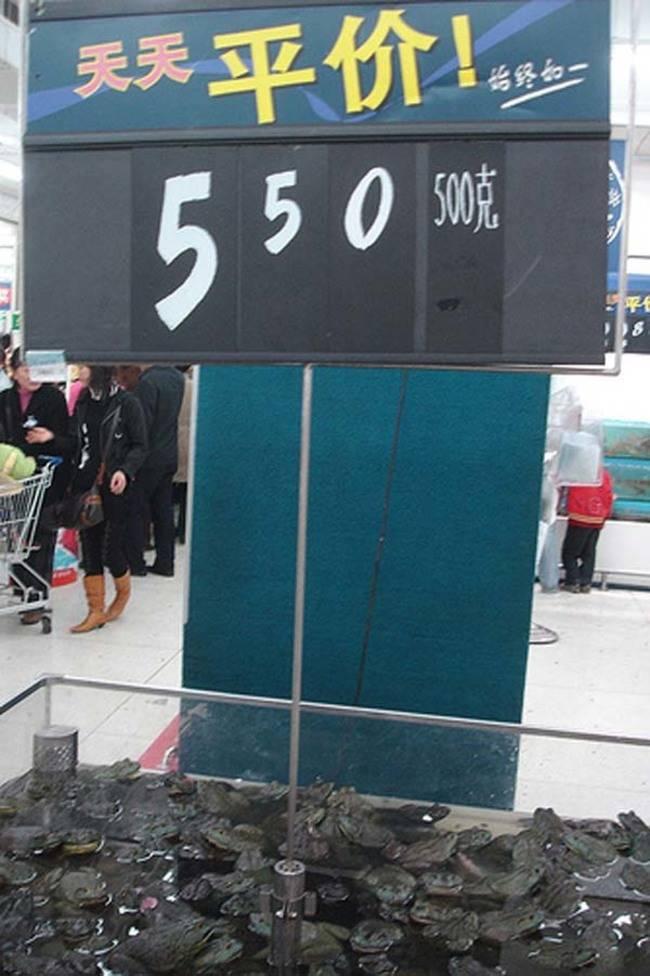 你可以在中國超市找到這12種怪東西。#12會把你嚇到往後跑!
