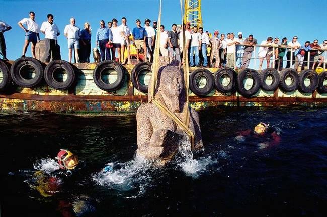 海洋考古學家在深海中尋獲西元前8世紀最神祕的失落古文明。
