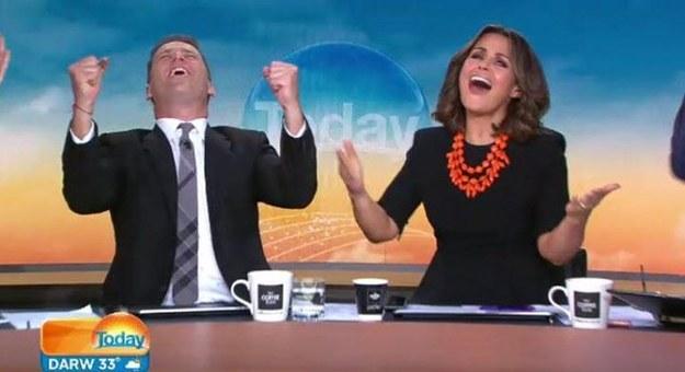 Karl說和他搭檔的女主持人Lisa Wilkinson也經常被觀眾批評造型。