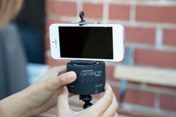 11. 360º旋转的拍照神器,让你可以拍出完美的全景照片或者缩时摄影。