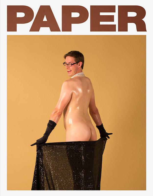 還記得金卡黛珊的熱門超大屁股照片嗎?這些男生決定拍他們自己的版本。