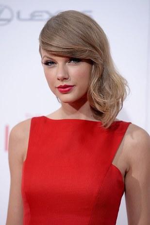 國民小天后泰勒絲(Taylor Alison Swift)變成鳳凰前的模樣