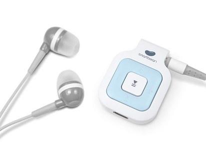 25. 藍芽耳機接收器,讓耳機線不再糾結。