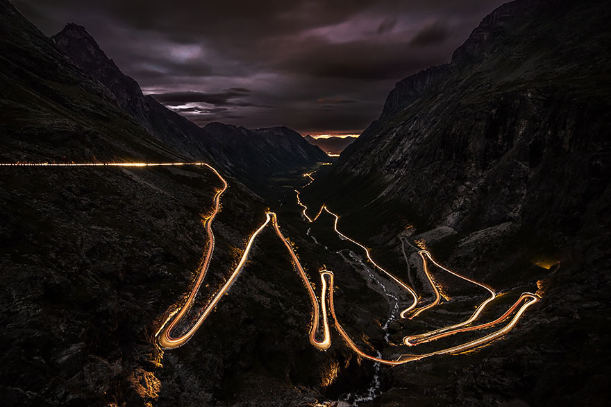 11.傑蘭格峽灣精靈公路 (Trollstigen)