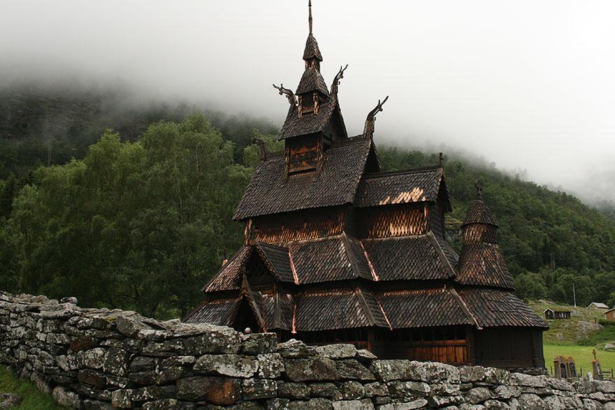 20.博爾貢木板教堂(Borgund Stave Church)