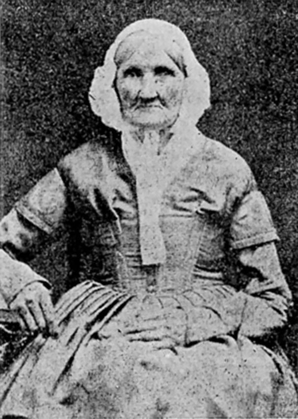 #22 Hannah Stilley,生於1746年,此照片攝於1840年。這有可能是世界上最早的照片。