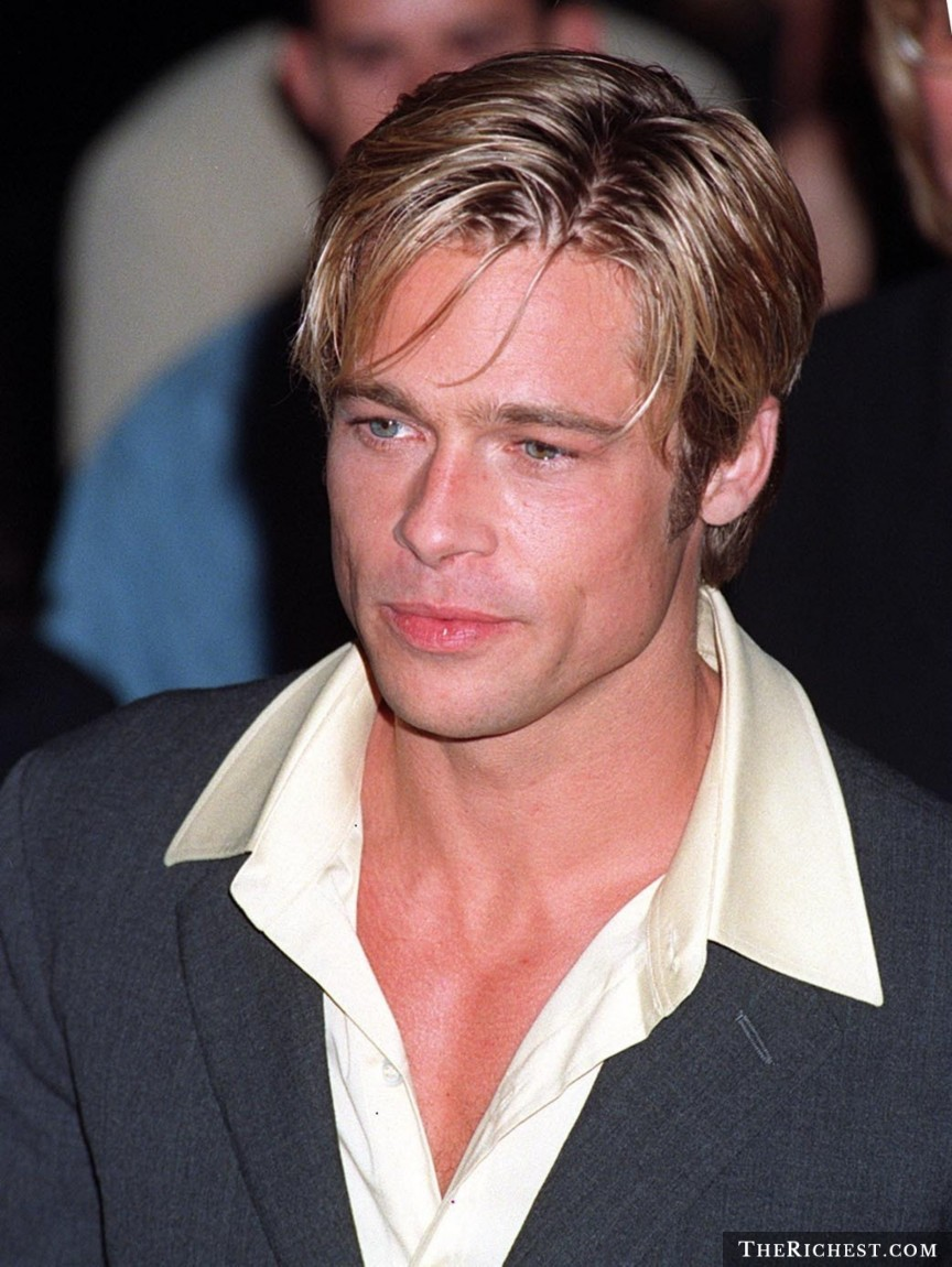 1. 布萊德‧彼特 (Brad Pitt)
