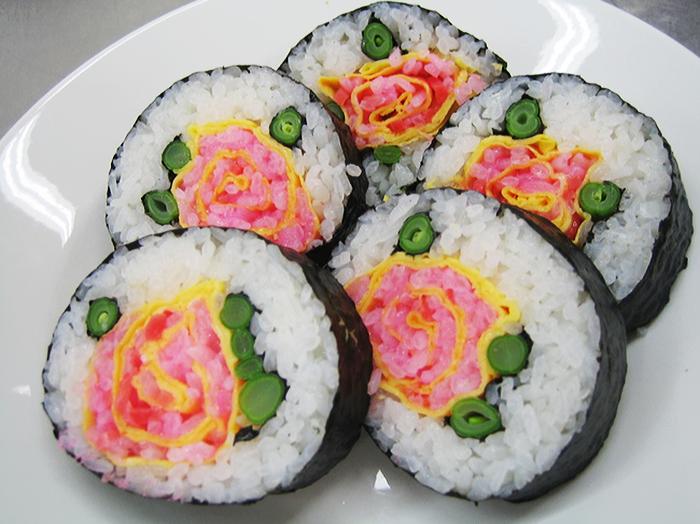 #22 玫瑰花壽司
