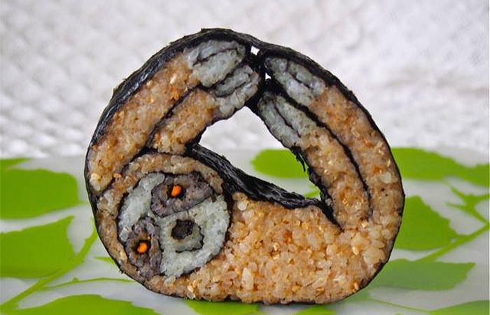 22個讓你一口也捨不得咬下去的超可愛壽司。#18一點都不敢吃~