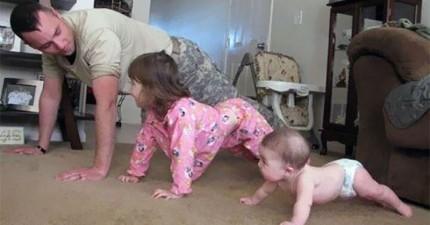 20個只有世界上最好的老爸才會做的事情。