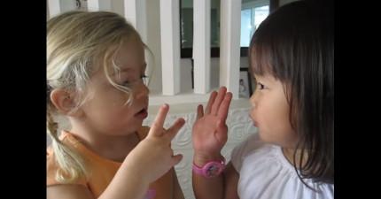 這支影片會警告你,永遠不要問女生的年紀。就算她們才兩歲!