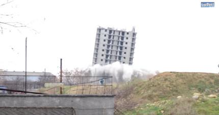 他們引爆了這棟大樓,但完全沒猜到這棟大樓倔強過頭了!