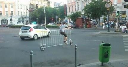 欄杆腳踏車