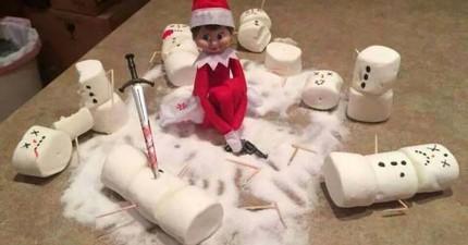 你身邊可能有聖誕老人派來的精靈來看你乖不乖,而且他們一點都不善良!