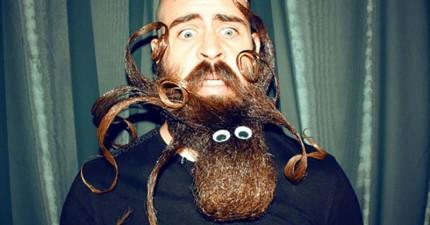 看完這男人稱霸世界的鬍子造型,我興奮的崩潰了...