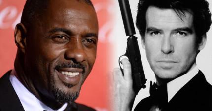 被批評黑人不能飾演007詹姆士龐德,這位黑人演員以最完美的回覆大反擊!