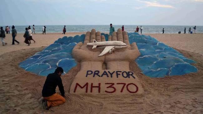 4.) 馬來西亞航空370號班機空難(2014.03)