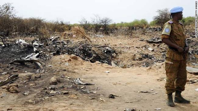 17.) Air Algérie Flight 5017Crashes In Mali - July 2014.