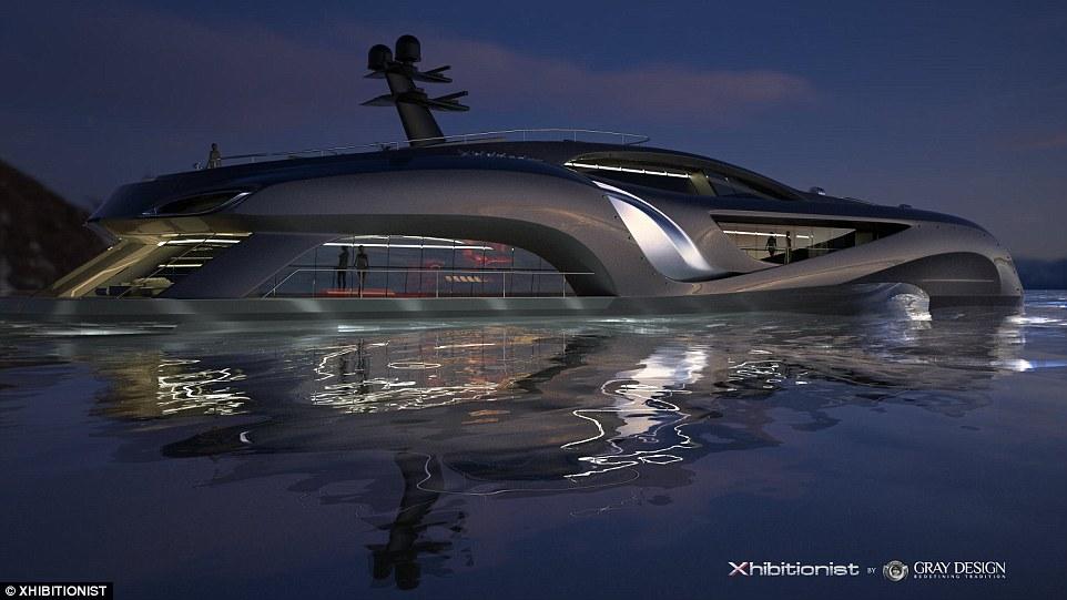 這個8億起跳的超豪華遊艇,根本是蝙蝠俠才會有的極致裝備。