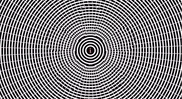 (影片截圖)它會讓人的大腦對於視覺上漸漸習慣了物體的移動方向,隨後凝視靜止不動的物體時反而會產生物體往反方向移動的錯覺。
