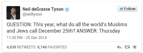 這名天文學家對於聖誕節的言論,讓全世界的基督徒氣到抓狂!
