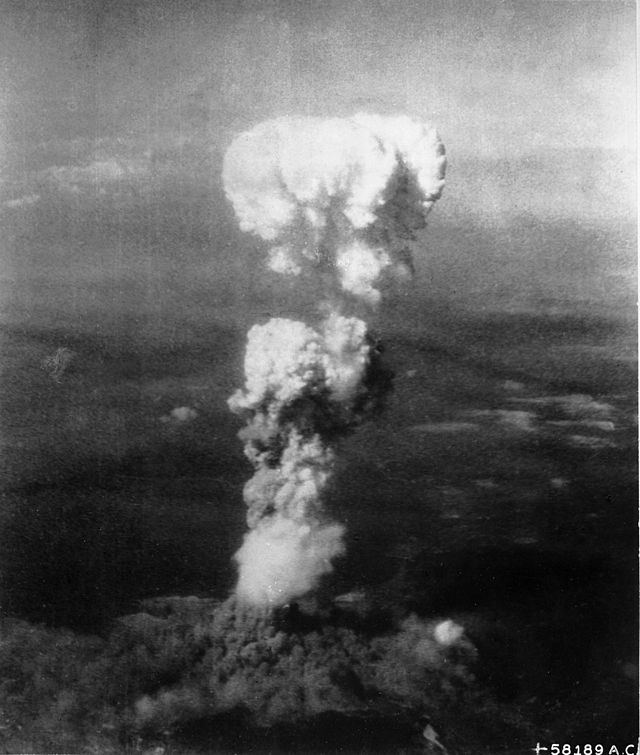 我們都知道,日本當時並沒有投降,於是原子彈在廣島爆炸了。