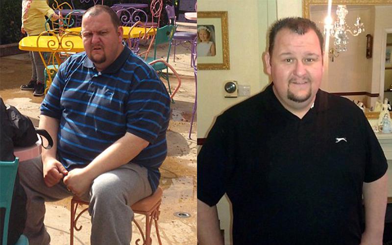 152公斤的老爸自創瘦身飲食法,不禁美食11個月就暴瘦63公斤。