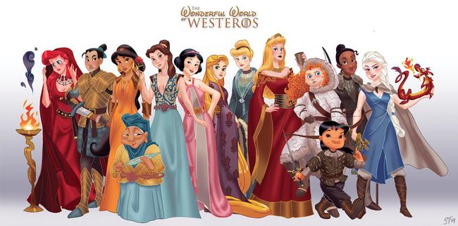 2014年,迪士尼公主被惡整了17次。想不到其中有這麼深刻的含意!