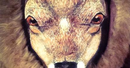 你確定這是一頭鹿嗎?看近一點...你看得出是什麼嗎?