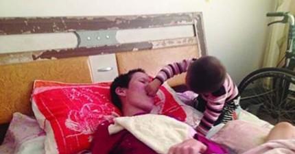 母親車禍昏迷奇蹟產下嬰兒。昏迷了2.5年後,小兒子又帶來第二個奇蹟。