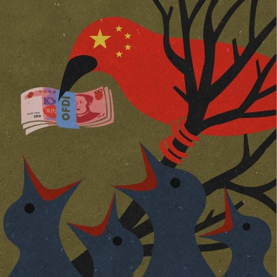 The Chinese government is shelling out dollars to its citizens.