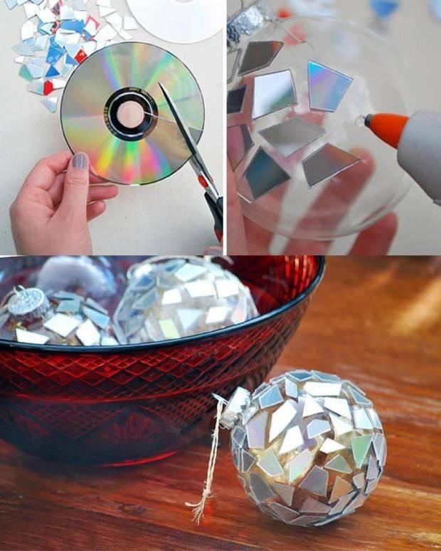 舊CD片別丟掉!你可以用它們做出這個超酷炫的盤子!