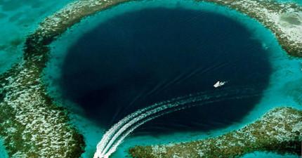 美麗的大藍洞居然解開了千年前馬雅文明突然消失的無解之謎!