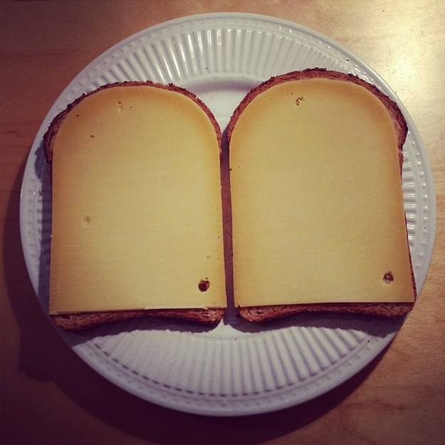 And when the tale of the love between this bread and this cheese became the greatest story ever told. 💘🍞