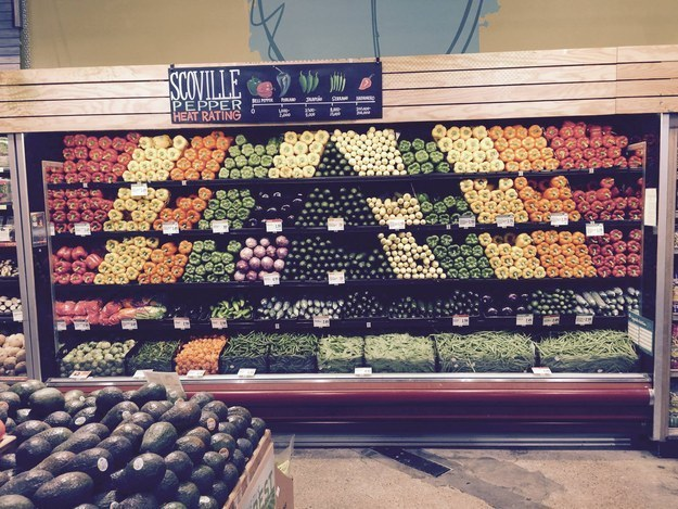 When the person who worked in this grocery store made all our dreams come true. 🍅🍏🍊